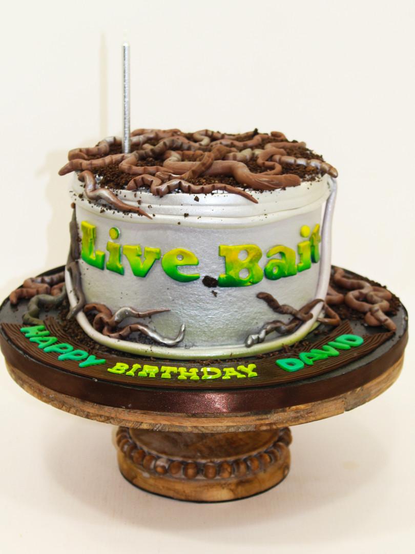 Bait Bucket Cake