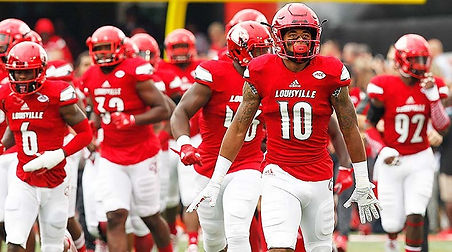 Football players for The Louisville Cardinals