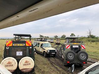 Safari trip during Kenya Relief mission trip
