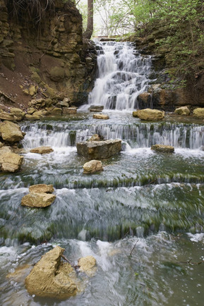 Waterfall in The Parklands