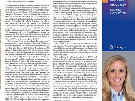 Dr. Ozan Akca and Dr. Victoria Knott's review published in this month's Anesthesia & Analgesia
