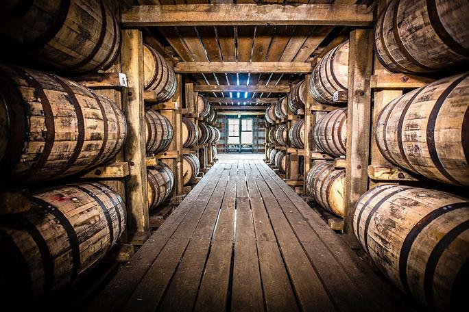 Bourbon barrel storage