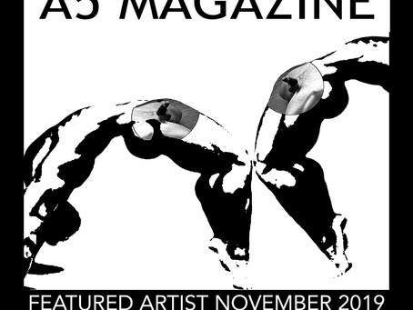 @A5 Magazine  London Featured Artist November 2019.