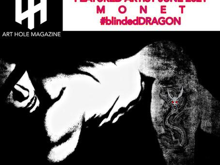 @Arthole Magazine, London Featured Artist June 2021