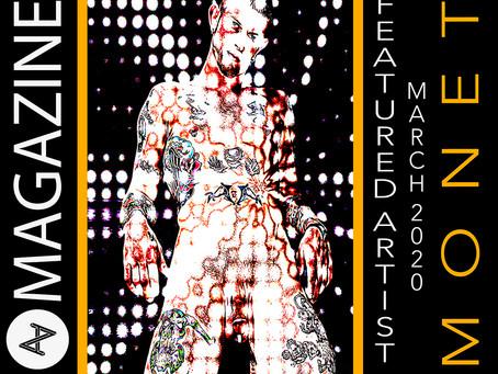 @averagearts Magazine, London Featured #Artist March 2020