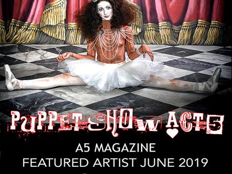 @A5 Magazine Featured Artist June 2019