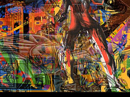 A5 Magazine, London Featured Artist February 2019 Artwork: Rough Basquiat
