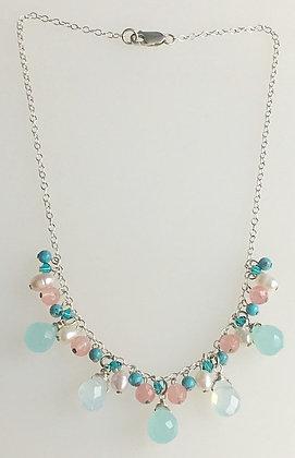 Sea Breeze Tassel Necklace