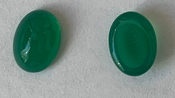 6x8 mm Acrylic green