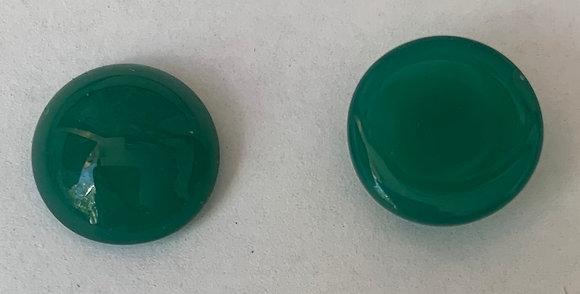 12mm Round Acrylic green