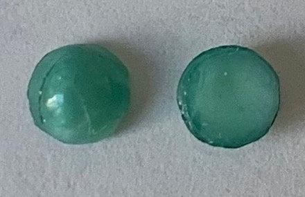 6mm Round Glass Opaque