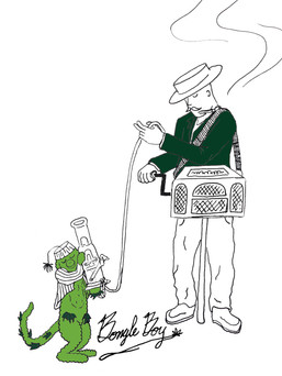 Oregon (Funk) Grinder and Mari-Monkey