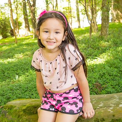 Ensaio Sara 5 Anos
