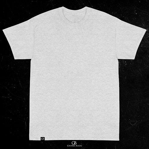 Camiseta Manga Curta Cinza Mescla