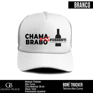 Boné Trucker Possenti Bebidas