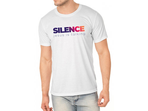 Camiseta Silence Branco