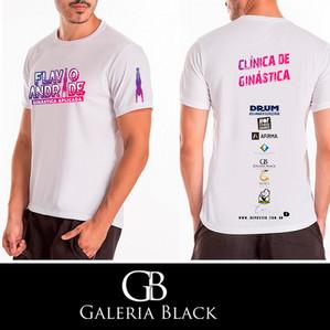 Camiseta Dry Fit Coach Flávio Andrade