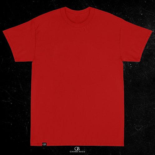 Camiseta Manga Curta Vermelho
