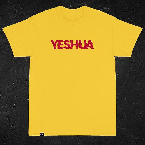 Camiseta Manga Curta Yeshua Amarelo