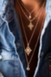 collier sautoire pendentif Luj Paris