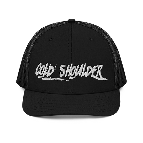Cold Shoulder Trucker Cap