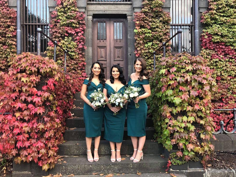 white wedding in Autumn leaves.jpg