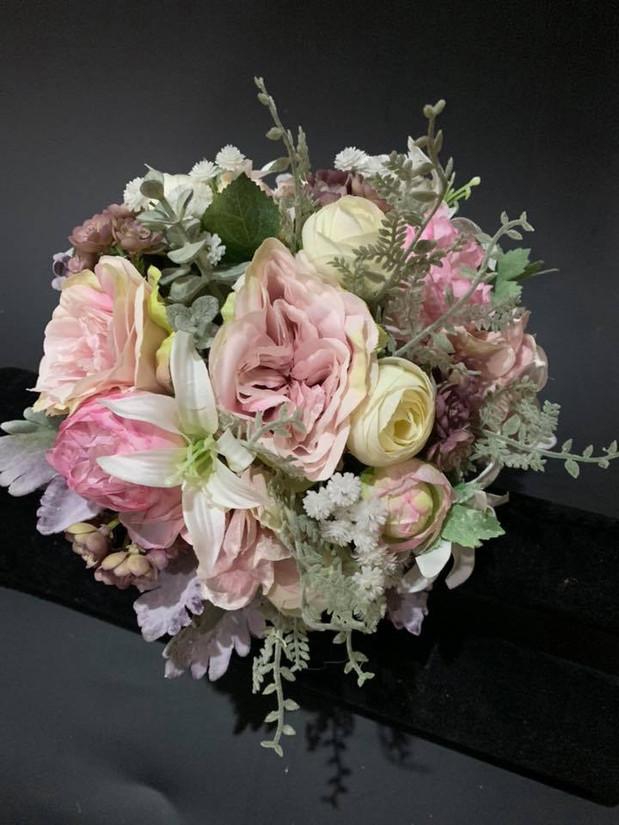 Buds n Roses - Silk Wedding fowers (38).