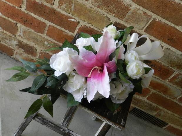 Buds n Roses - Silk Wedding fowers (6).j