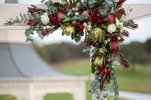 Buds n roses - Native flower installatio
