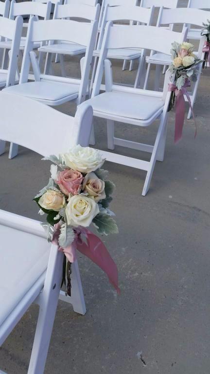 Fresh Roses on Elwood Pier on chairs.jpg