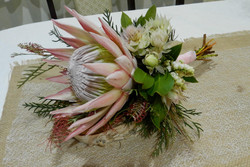 Buds n roses - King protea and natives
