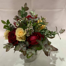 Buds n roses - Native Bouquet with yello