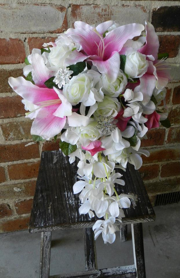 Buds n Roses - Silk Wedding fowers (5).j