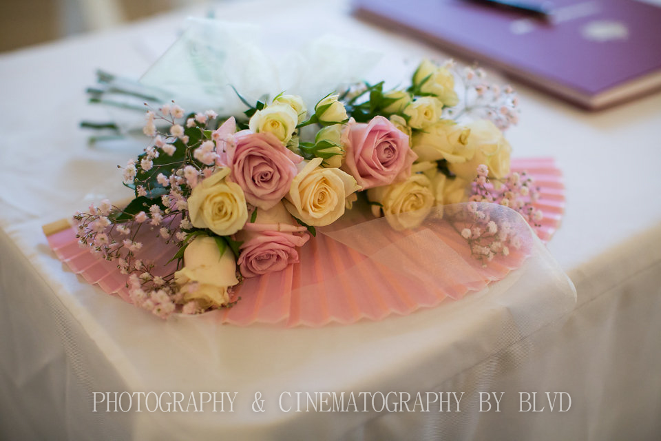 Receptions flowers by Buds n Roses