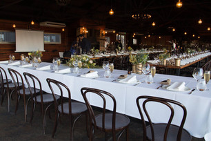 Buds n Roses - reception tables at zonzo