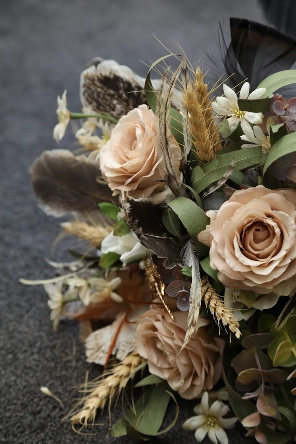 Buds n roses - Silk flowers for weddings