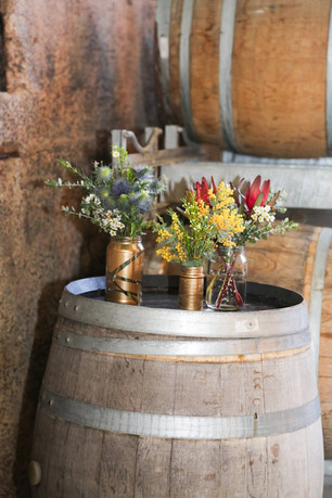 Buds n Roses - ceremony jars full of Nat