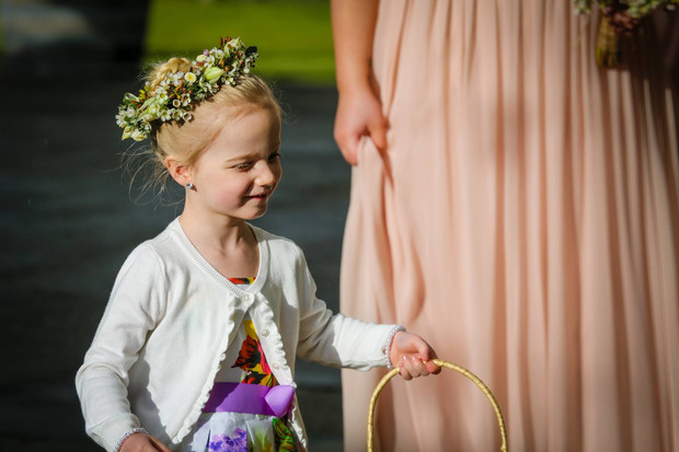 Buds n Roses - Flower girls carring Nati