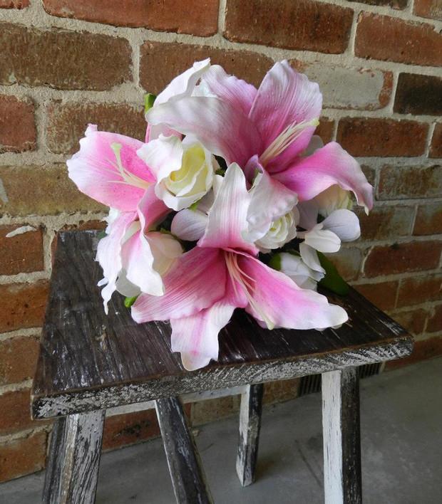 Buds n Roses - Silk Wedding fowers (3).j
