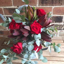 Buds n roses - Native Bouquet with roses