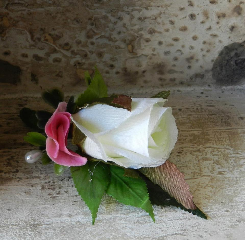 Buds n Roses - Silk Wedding fowers (2)