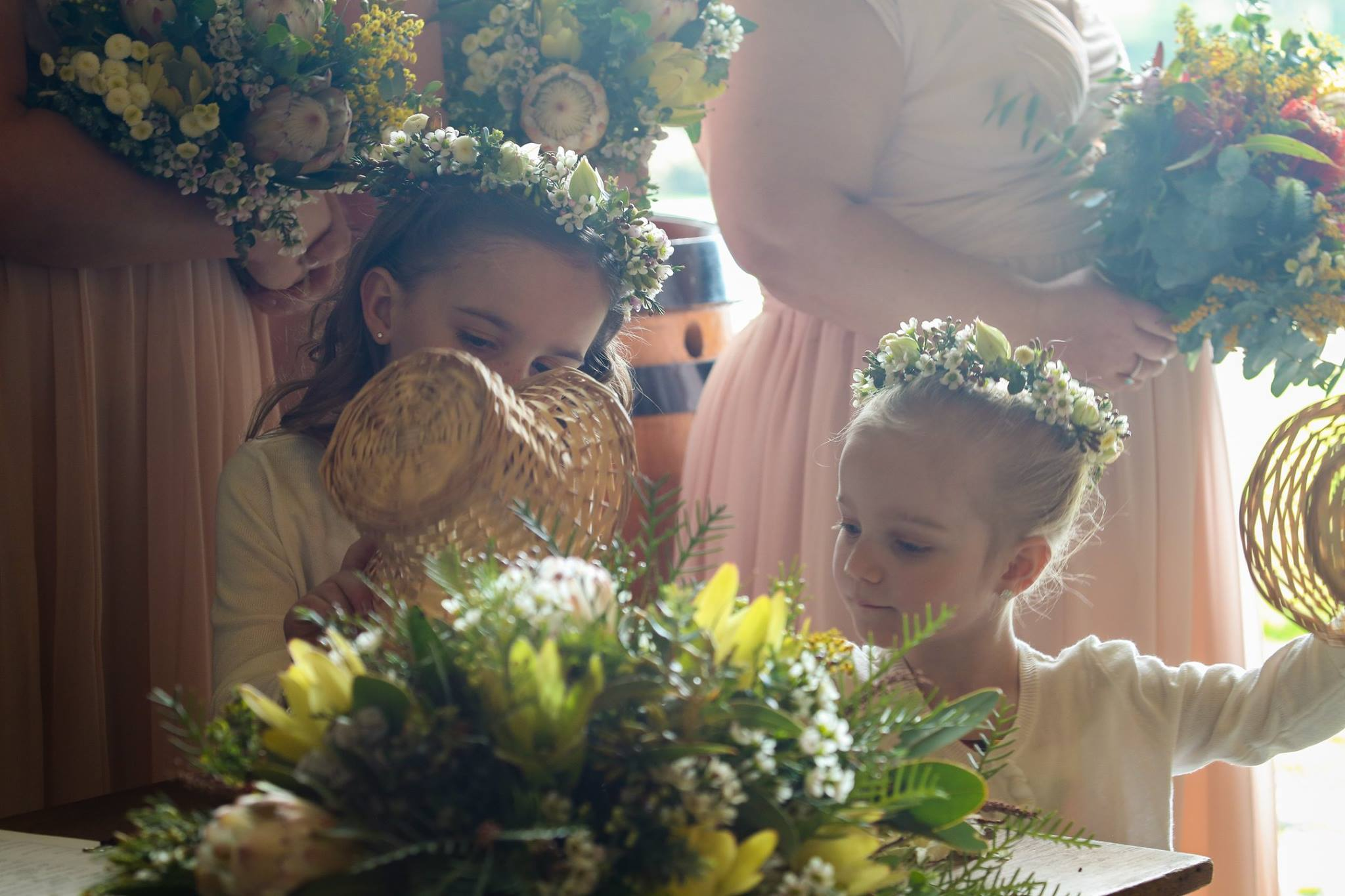 Kirsty and Kieran Rutly country bouquets