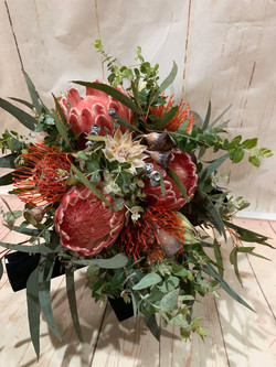 Buds n roses - Bridal Native bouquet