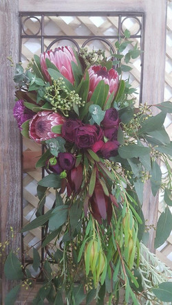 Native bouquet for cemony flowers
