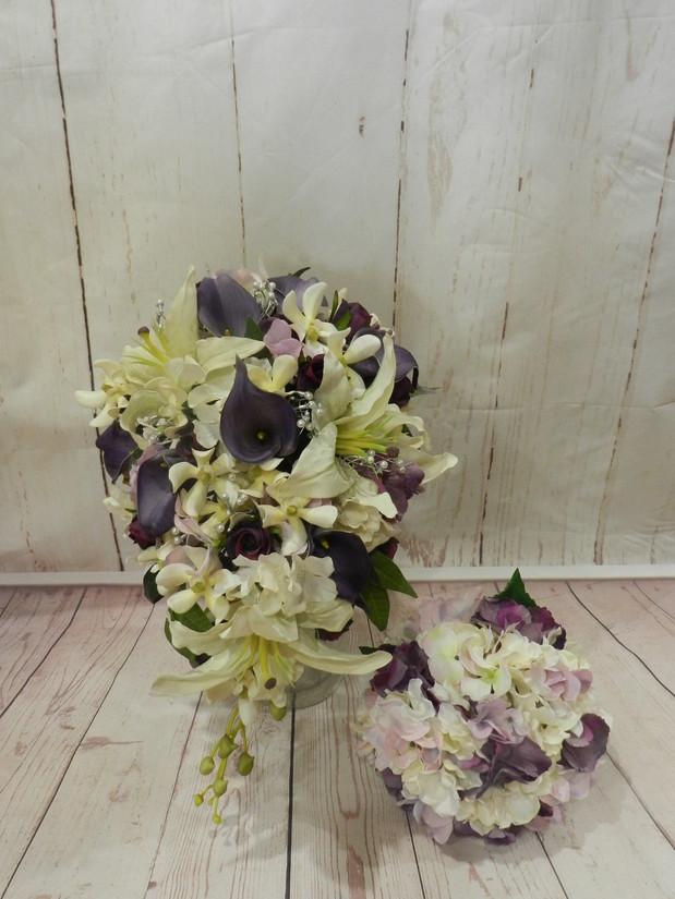 Buds n Roses - Silk Wedding fowers (33).
