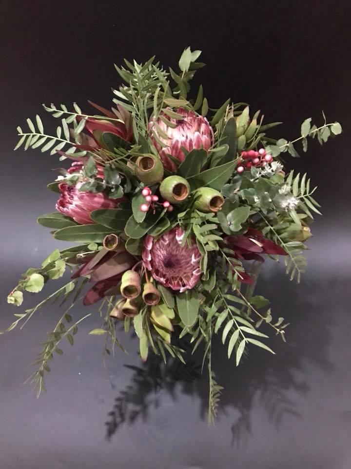 Buds n roses - native Bridesmaids posy..