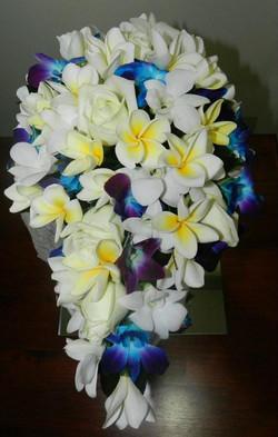 Buds n Roses  Frangipani wedding