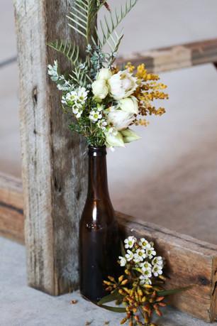 Buds n Roses - ceremony bottles full of