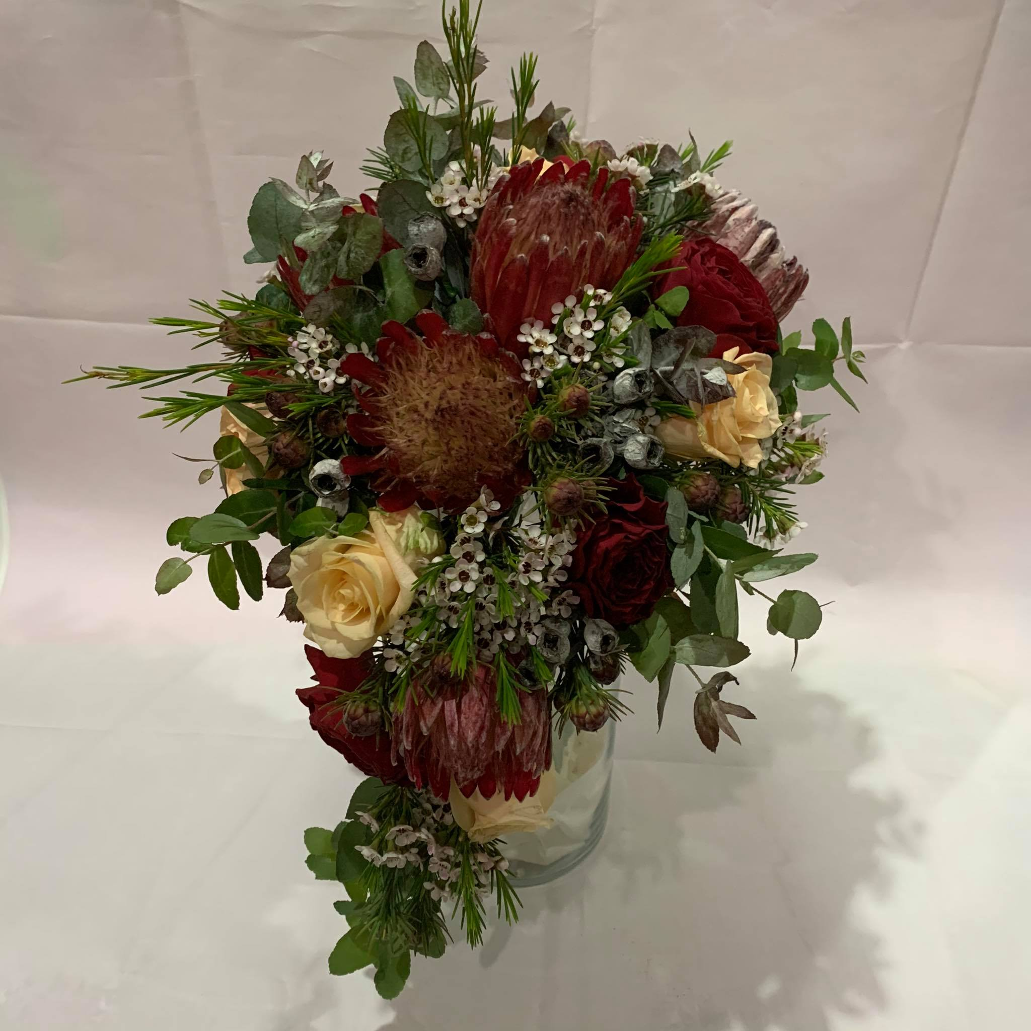 Buds n roses - Native Bouquet for bride.