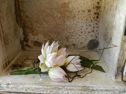 Buds n roses - Mothers corsage silk 2